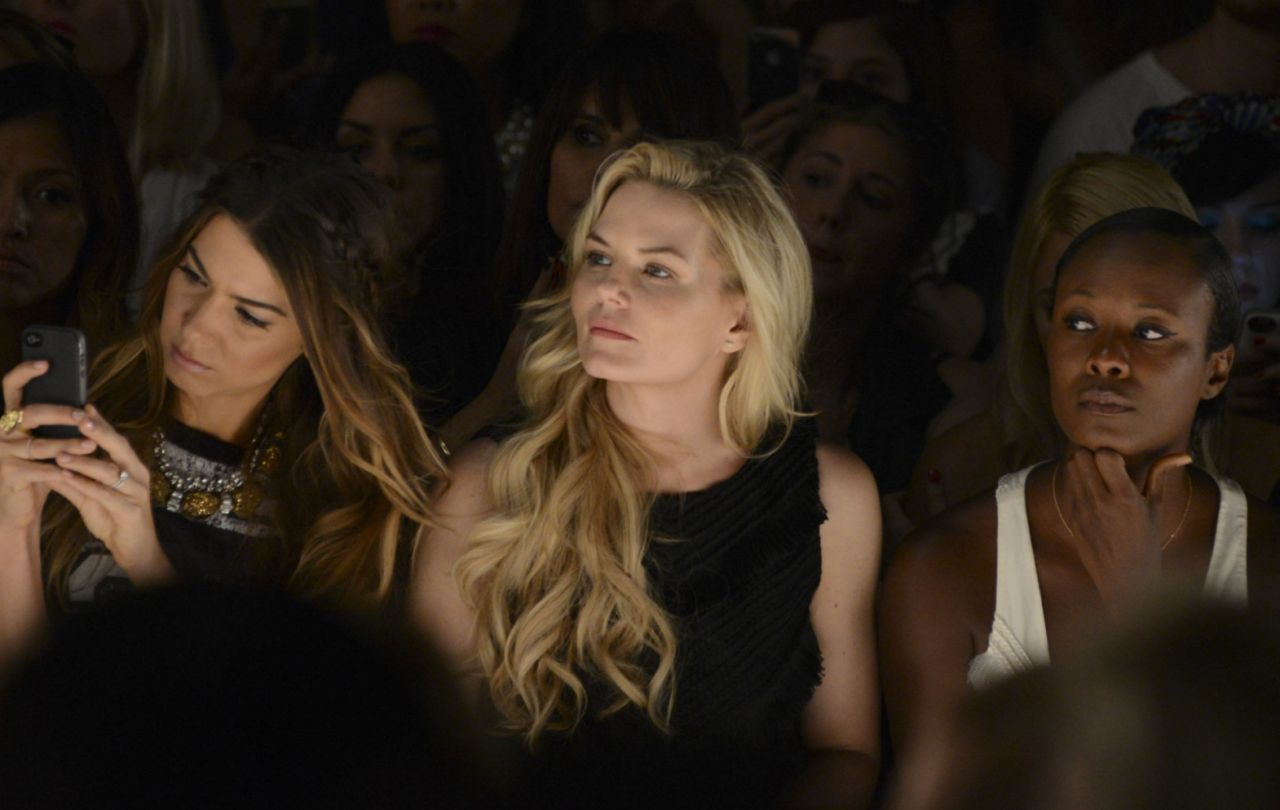 Jennifer Morrison - Mara Hoffman Fashion Show in New York City – September 2014
