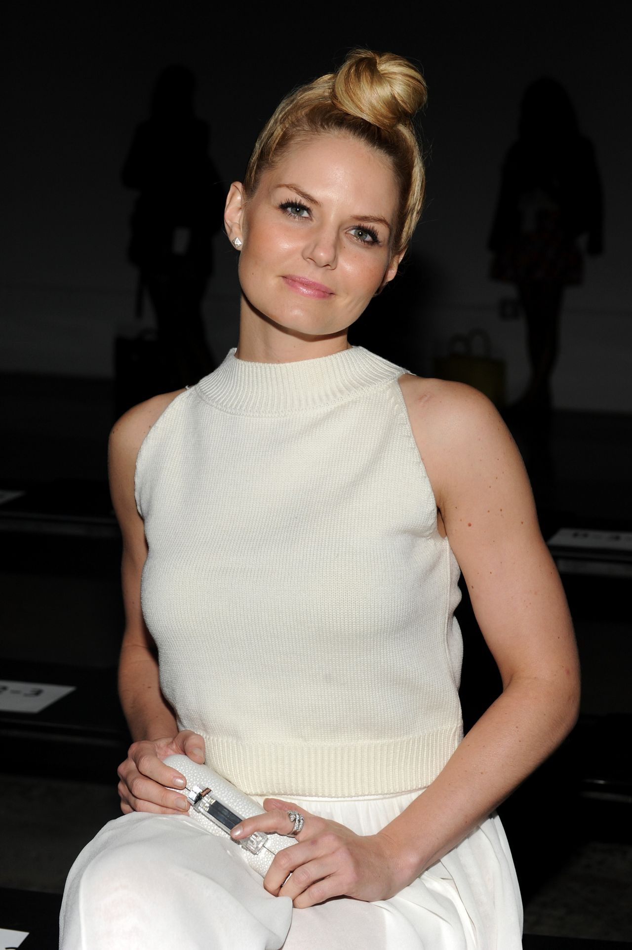 Jennifer Morrison - Sally LaPointe Fashion Show in New York City – September 2014