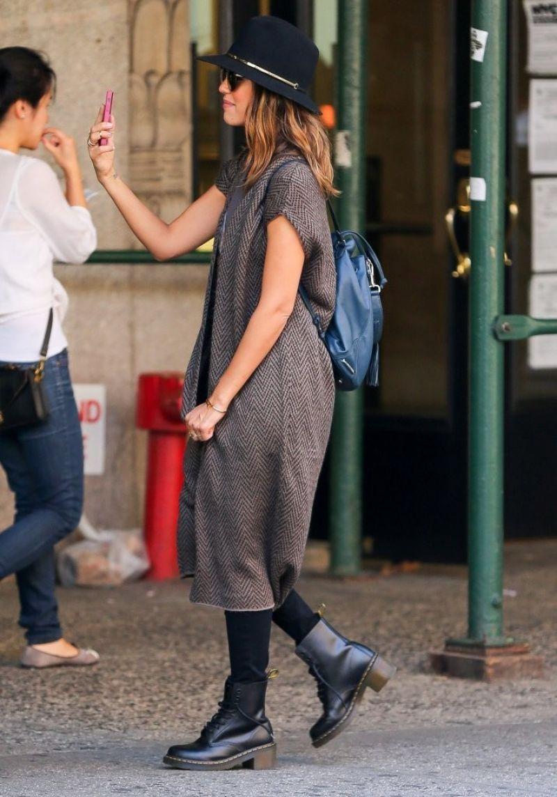 Jessica Alba in New York City - September 2014