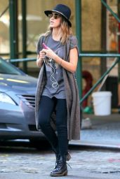 Jessica Alba in New York City - September 2014
