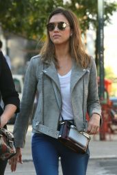 Jessica Alba Running Errands in New York City - Sept. 2014