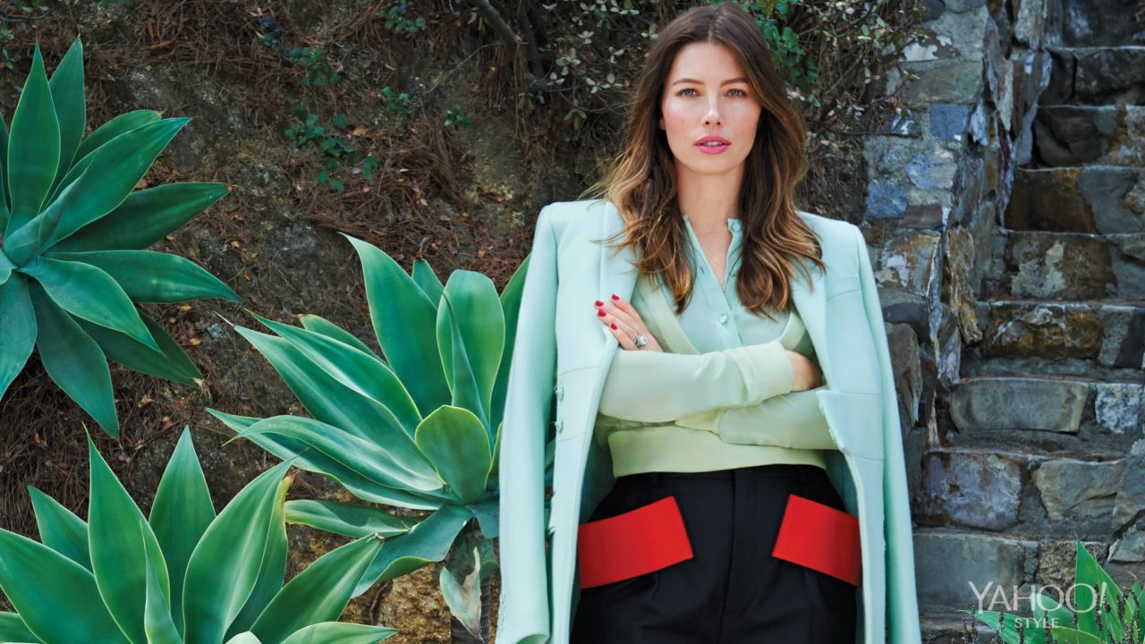 Jessica Biel - Yahoo Style Digital Magazine September 2014 Issue