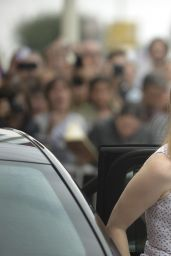 Jessica Chastain - Arriving at the Maria Cristina Hotel in San Sebastian in Spain - Sept. 2014