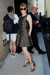 Jessica Chastain - Out in New York City - September 2014