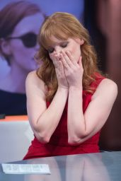 Jessica Chastain Tapes an Appearance on the