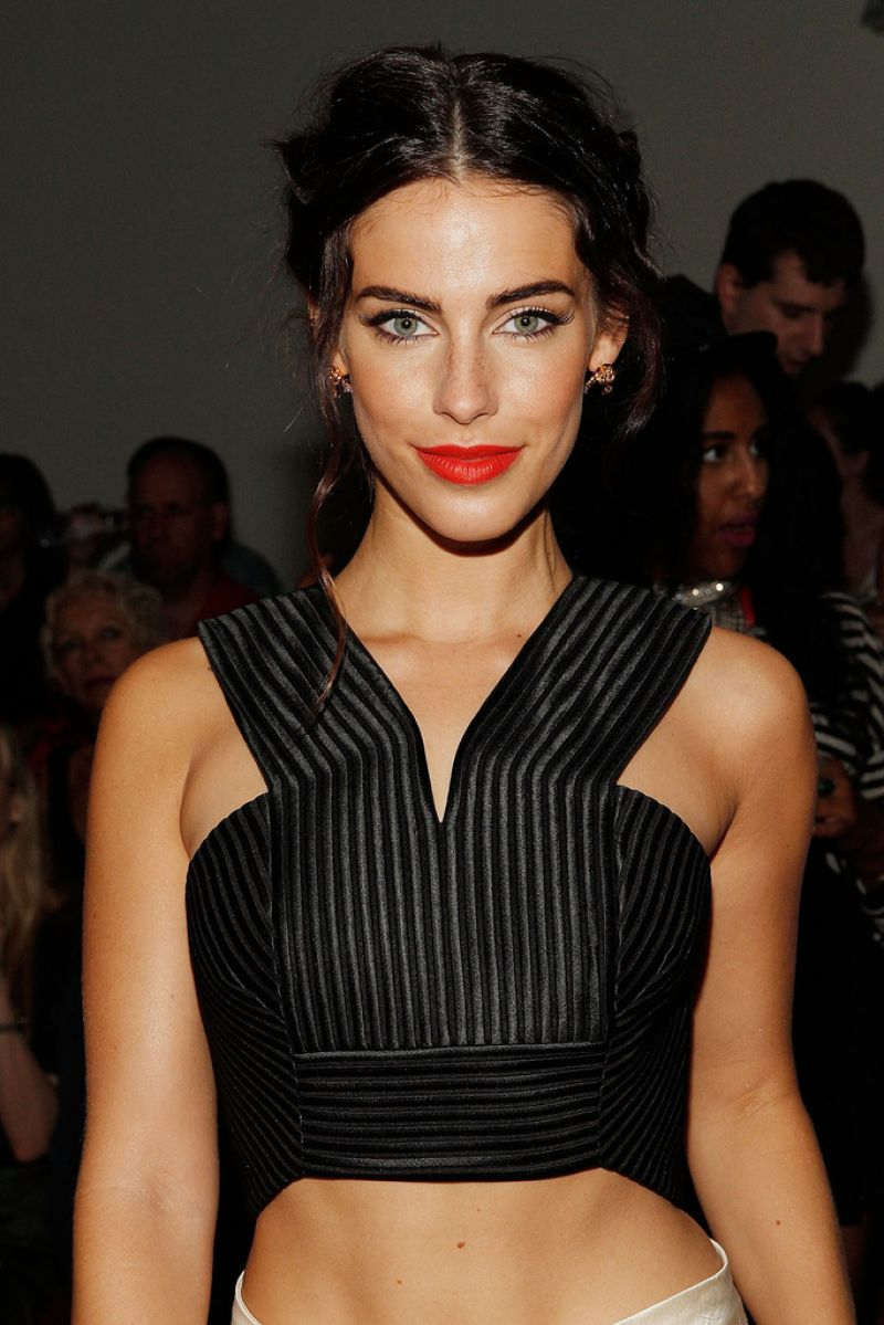 Jessica Lowndes - Houghton Fashion Show in New York City - September 2014