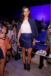 Jessica Lowndes - Rebecca Minkoff Fashion Show in New York City - September 2014