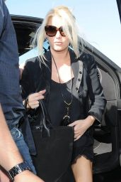 Jessica Simpson at LAX Airport, Sept. 2014