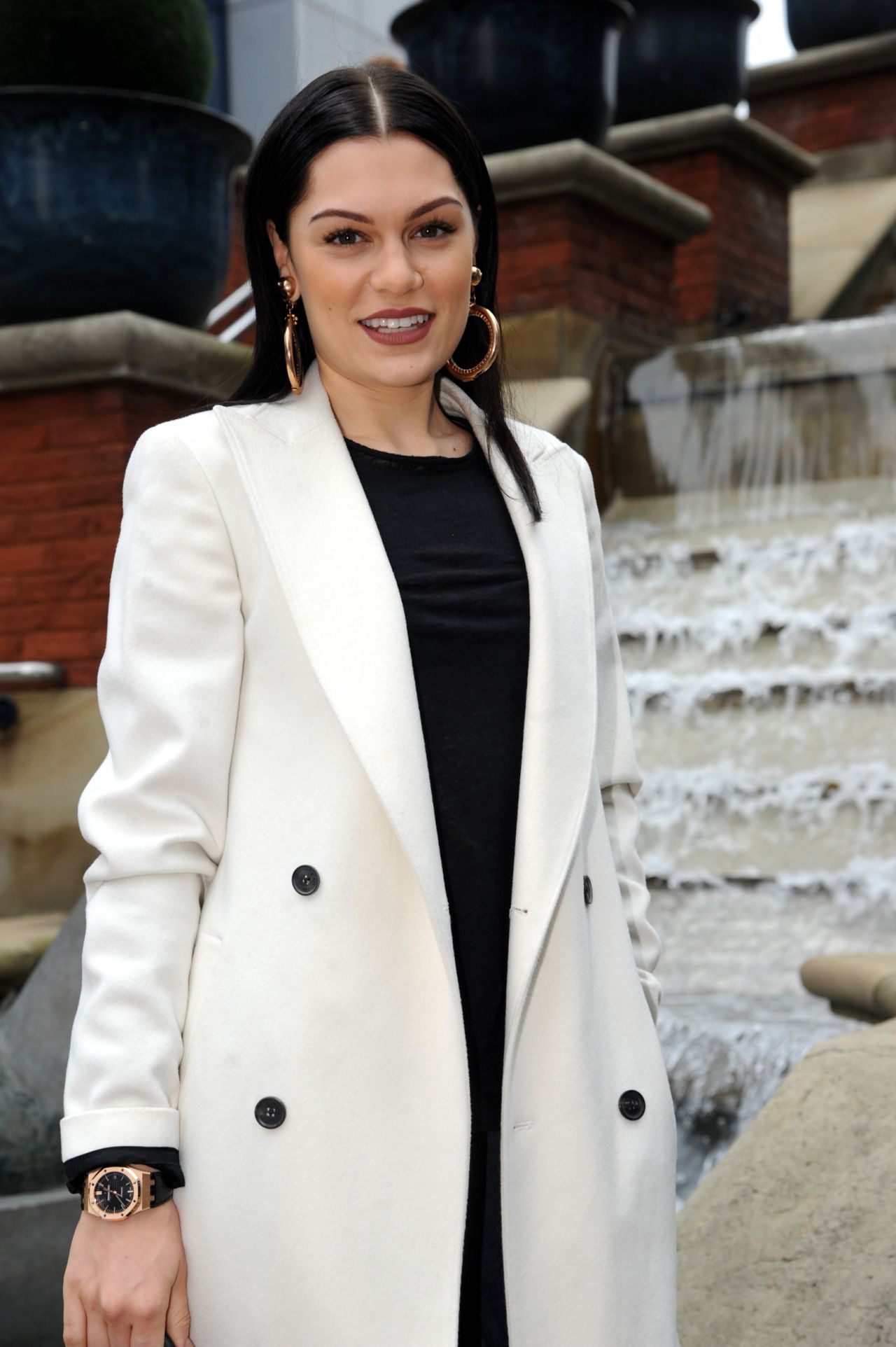 Jessie J Style - at Capital FM in Manchester - September 2014