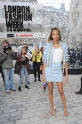 Jourdan Dunn at London Fashion Week Spring/Summer 2015