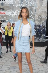 Jourdan Dunn at London Fashion Week Spring/Summer 2015
