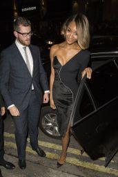 Jourdan Dunn - Hosts the London Fashion Week Maybelline Party - September 2014