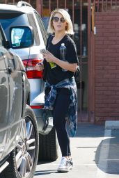 Julianne Hough - Arriving at the DWTS Studio in Hollywood - Sept. 2014