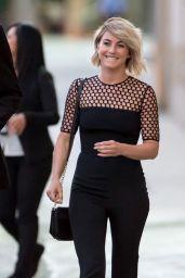 Julianne Hough at Jimmy Kimmel Live in Hollywood - September 2014