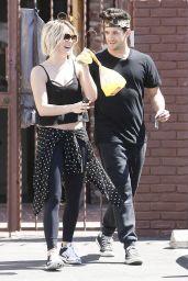 Julianne Hough - Leaving DWTS Dance Studio in Hollywood - September 2014