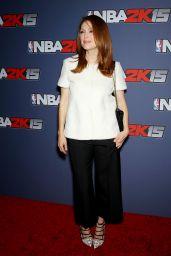 Julianne Moore – NBA 2K15 Launch Celebration in New York City