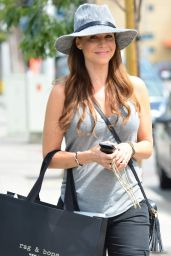 Julie Benz Shopping at Rag and Bone in West Hollywood - September 2014