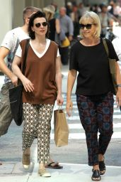 Juliette Binoche Out in Toronto - September 2014