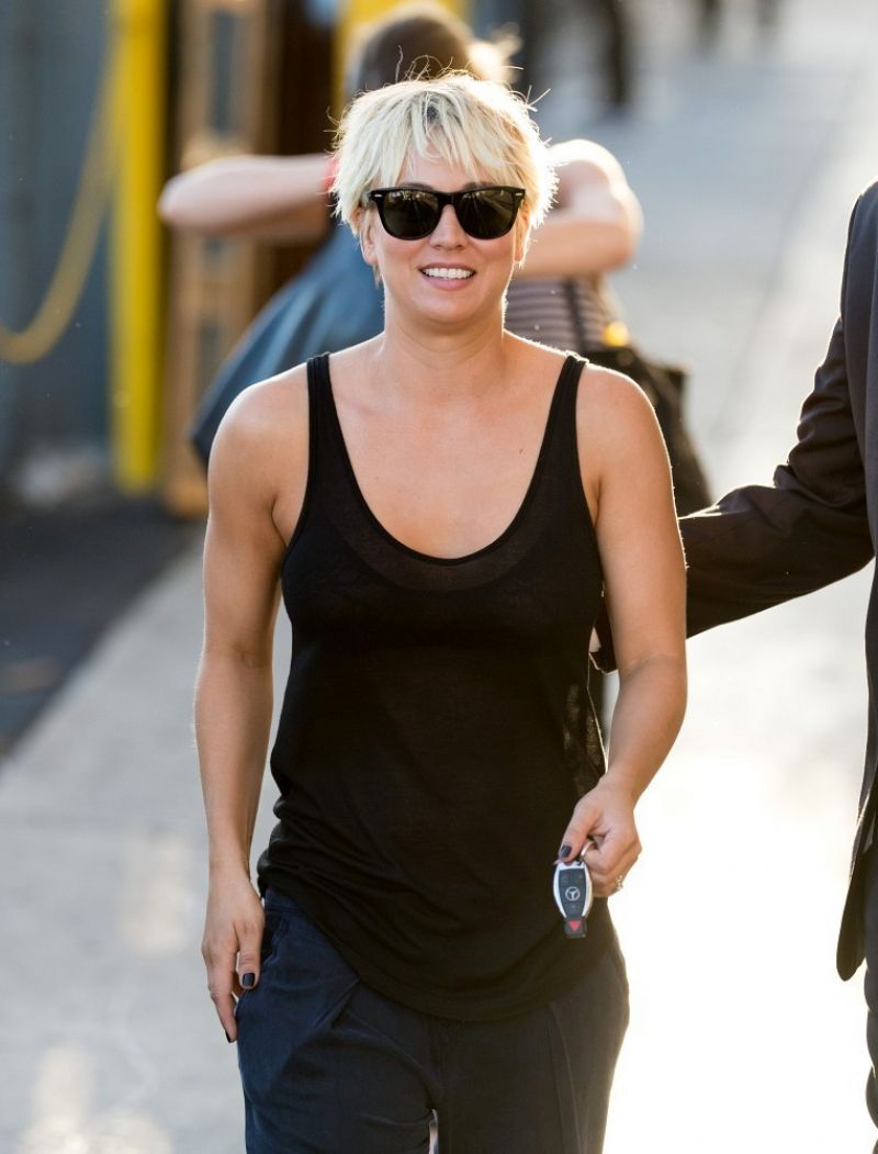 Kaley Cuoco Appeared on