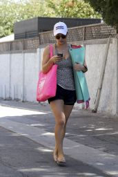 Kaley Cuoco Leaving Yoga Class in Sherman Oaks - September 2014