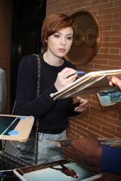 Karen Gillan - Arriving to Appear on