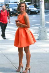 Karina Smirnoff - Outside the Trump Soho Hotel in New York City - September 2014