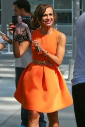 Karina Smirnoff - Outside the Trump Soho Hotel in New York City - September 2014