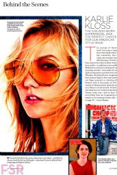Karlie Kloss - Lucky Magazine - October 2014 Issue