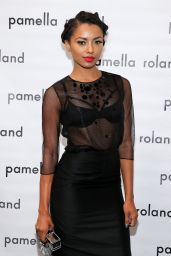 Kat Graham - Pamella Roland Fashion Show in New York City – Sep 2014