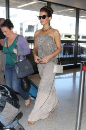 Kate Beckinsale at LAX Airport in Los Angeles - September 2014