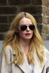 Kate Bosworth Checking out of the Greenwhich Hotel in New York City - September 2014