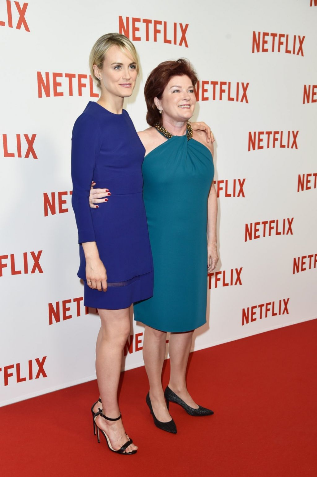 Kate Mulgrew Netflix Launch Party At Le Faust In Paris