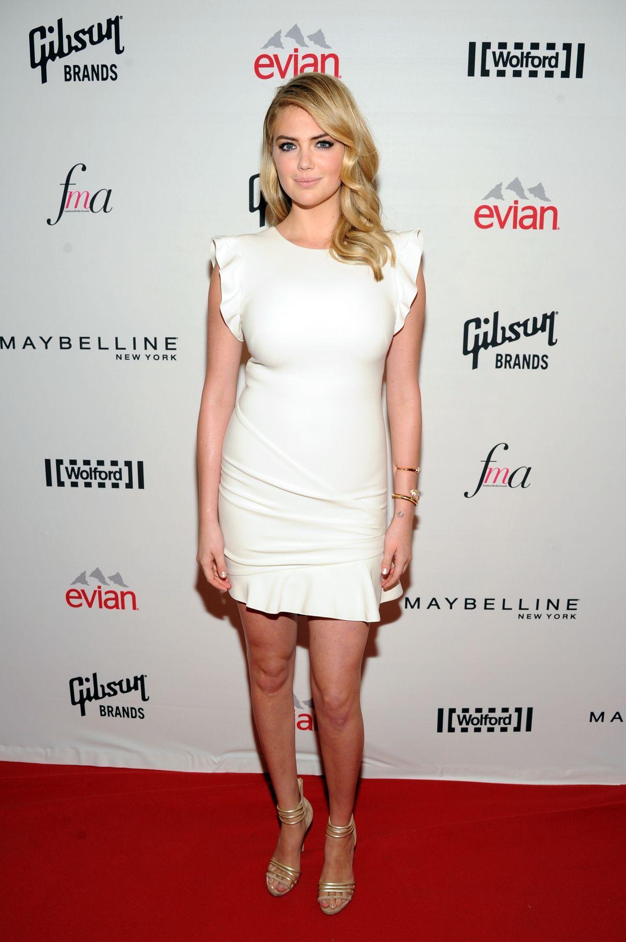 Kate Upton - 2014 Fashion Media Awards in New York City