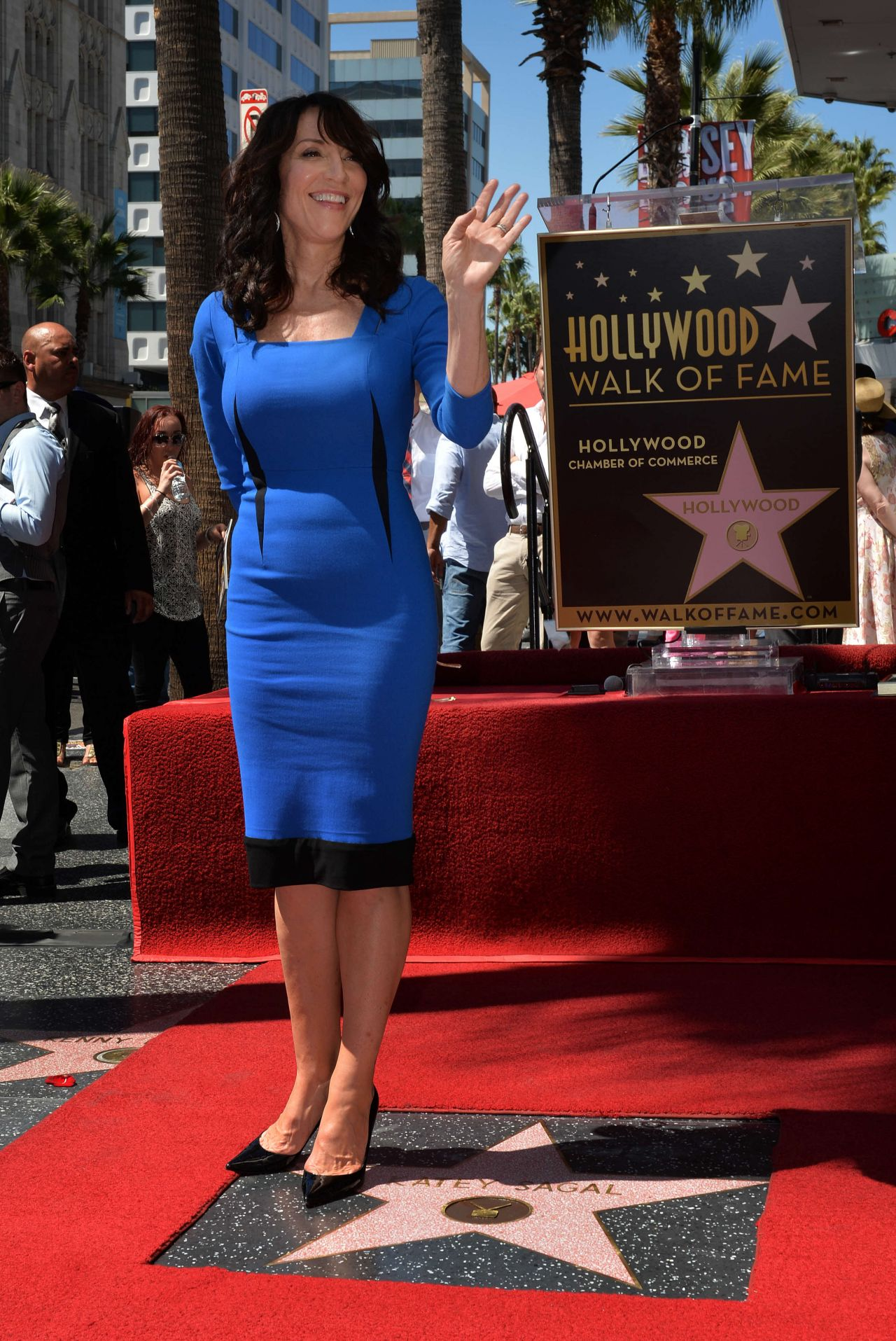 Katey Sagal - Hollywood Walk of Fame Ceremony - September 2014