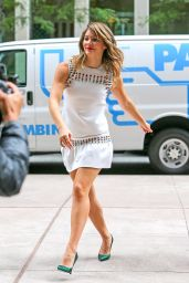 Katharine McPhee Hot Legs - Out in New York City - September 2014