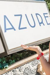 Katharine Mcphee in Bikini Top at Azure Luxury Pool in Vegas, August 2014