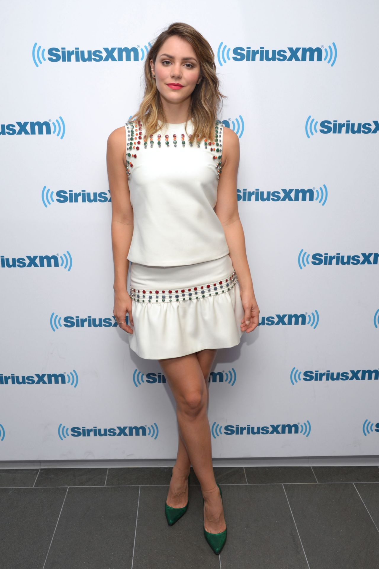 Katharine McPhee - Sirius XM Studios in New York City - September 2014