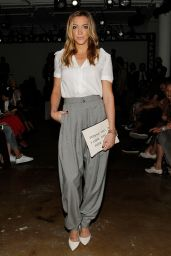 Katie Cassidy - Houghton Spring 2015 Fashion Show in New York City