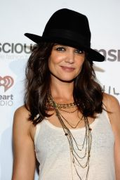 Katie Holmes - 2014 Global Citizen Festival VIP Lounge in New York City