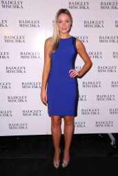 Katrina Bowden - Badgley Mischka Fashion Show in New York City – Sep 2014