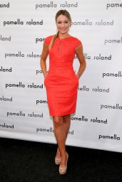 Katrina Bowden - Pamella Roland Fashion Show in New York City – Sep 2014