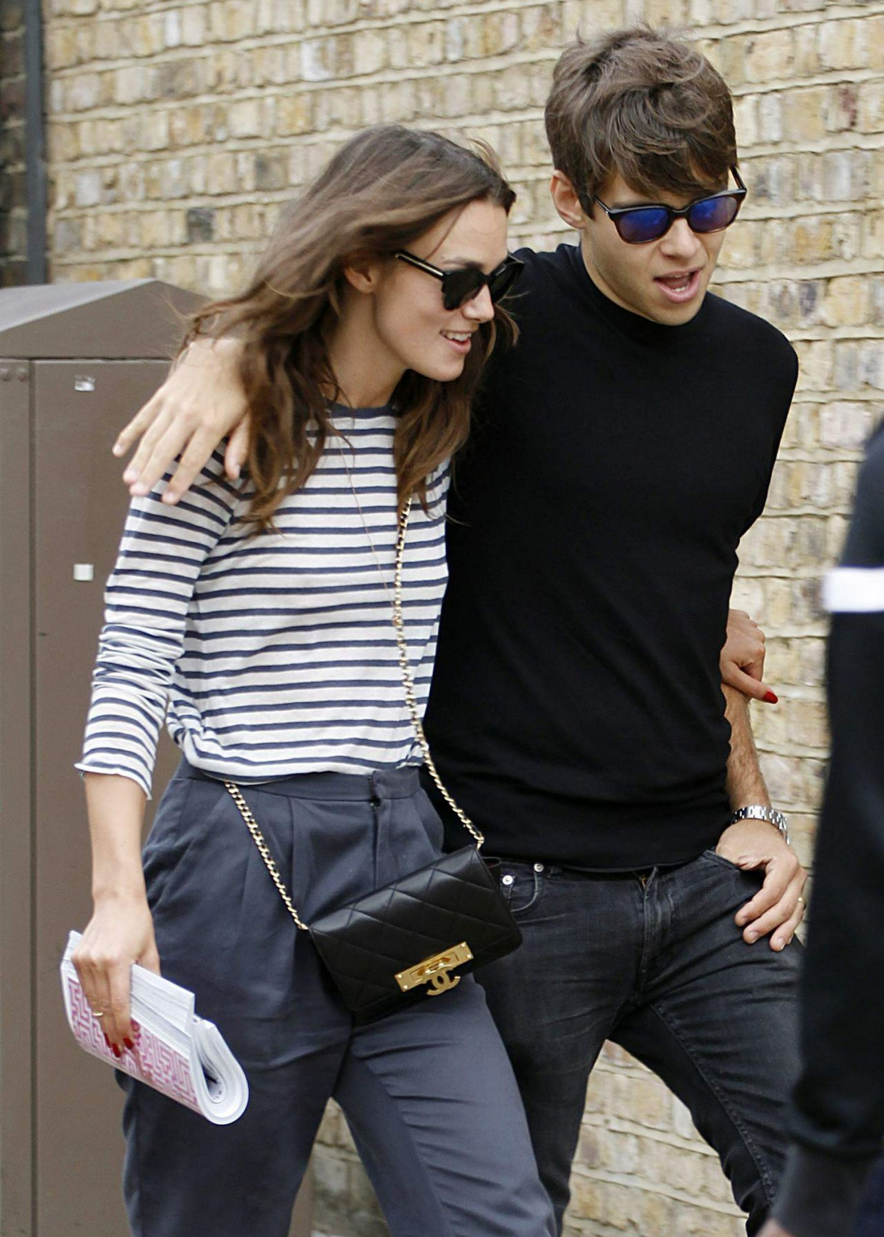 Keira Knightley And Her Husband James Righton Shopping