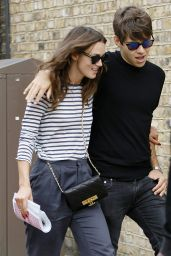 Keira Knightly and Her Husband James Righton - Shopping in North London, September 2014