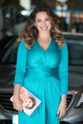 Kelly Brook at ITV Studios in London - September 2014