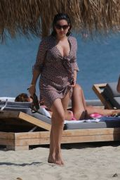 Kelly Brook Bikini Candids - Bach in Greece, September 2014