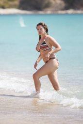 Kelly Brook Wearing a Bikini on a Beach in Greece - September 2014