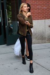 Kendall Jenner and Hailey Baldwin Style - Out in New York City - August 2014