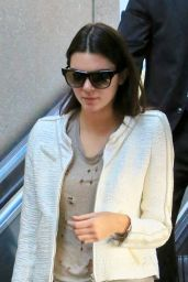 Kendall Jenner at LAX Airport - September 2014