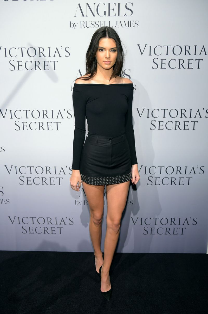 Kendall Jenner At Russell James Angel Book Launch In -2885