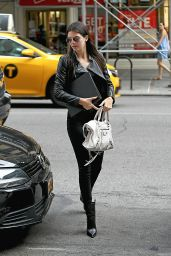 Kendall Jenner Going to a Business Meeting in New York City - September 2014